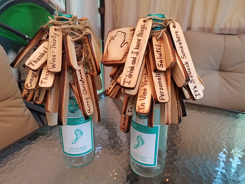 Hand Burned Gift Tags