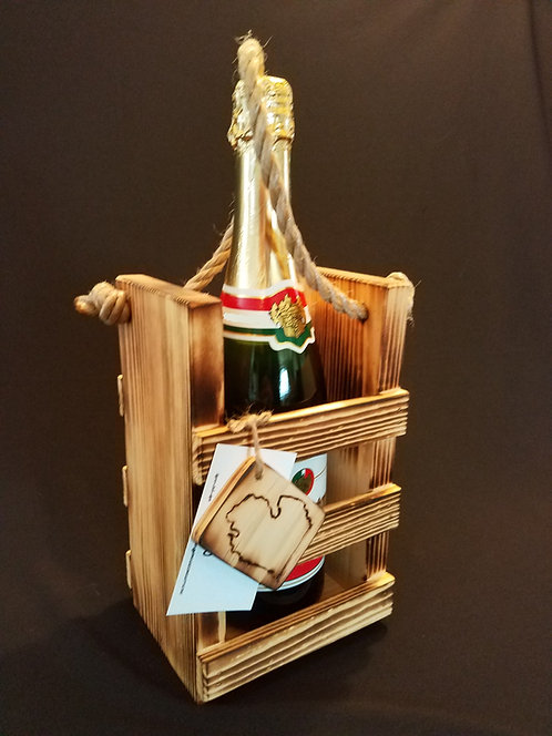 Single Champagne Crate