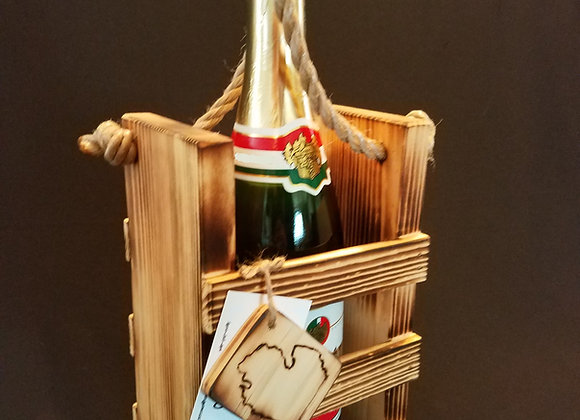 Single Champagne Crate