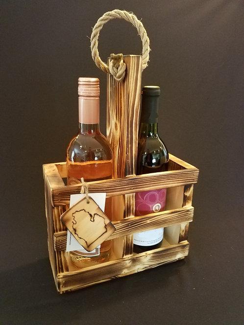 Double Wine Crate