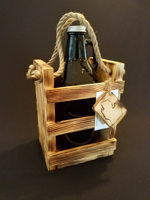 Single Growler Crate