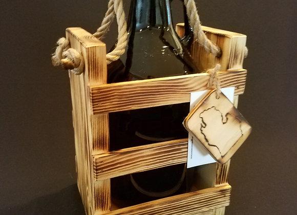 Single Growler Crate