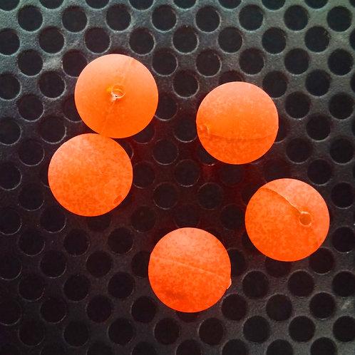 Steelhead Beads - Orange Satin - 10 Pack
