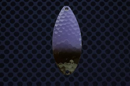 R&B Hammered Spoons - Violent Violet & Black - Tipped