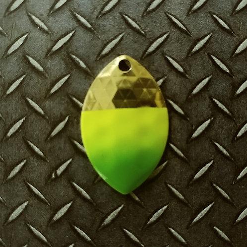 #3.5 Cascade - Brass Chart Green Tip (45)