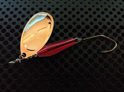 Torpedo Spinners - 24K Gold/Candy Red