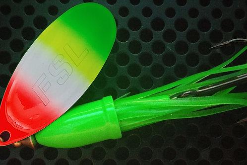 FSL Bell-ee Dancers - Green Tip Rainbow