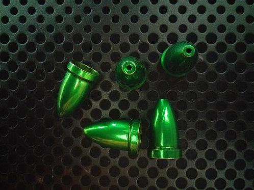 Bell Body Set - Metallic Green - 5 Pack