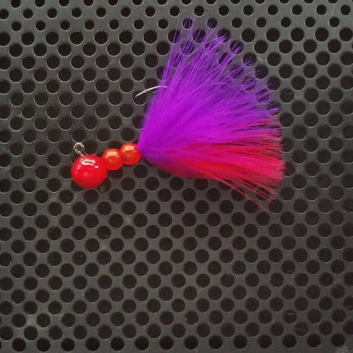 Beaded Jigs - Flo Cerise- (1/4 oz) - B3