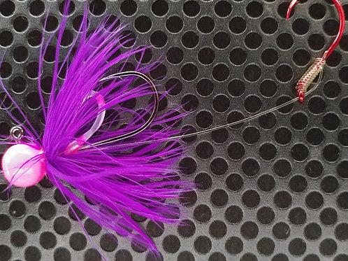1/4oz Bait Jigs - Purple (bj7)