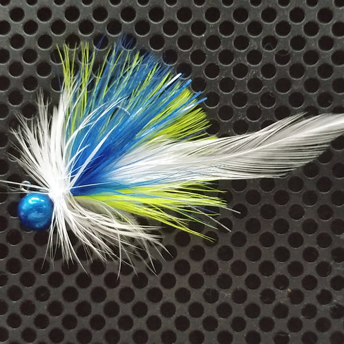 Full Tail Jigs (1/4 oz) - 12th Man - Blue Head - (FT10)