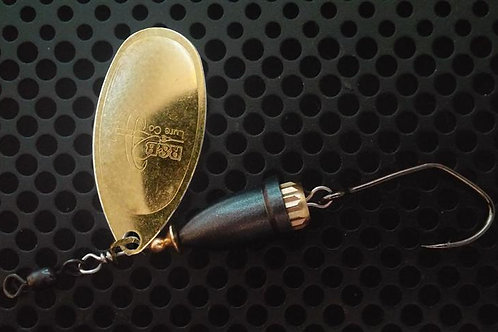 FSL Bell Spinners - Polished Brass/Teflon
