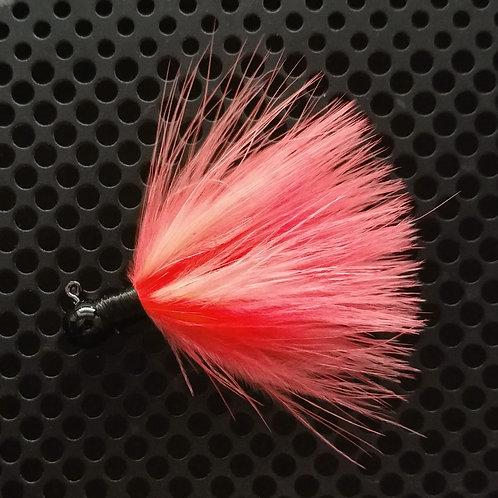 OS 1/8th Oz Marabou Jigs - Shrimp (os10)