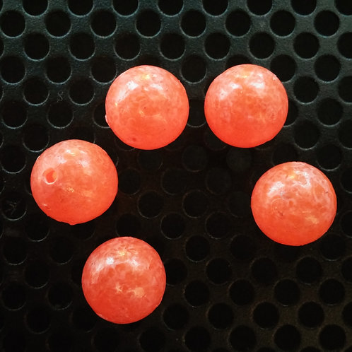 Steelhead Beads - Orange Frost - 10 Pack