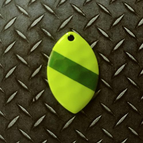#3.5 Cascade - Chart Candy Green Stripe (46)