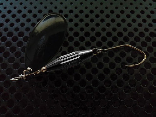 Torpedo Spinners - Black/Translucent Black