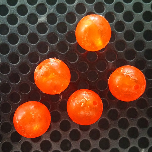 Steelhead Beads - Orange Cured - 10 Pack