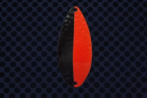 R&B Hammered Spoons - Black/Flo Flame