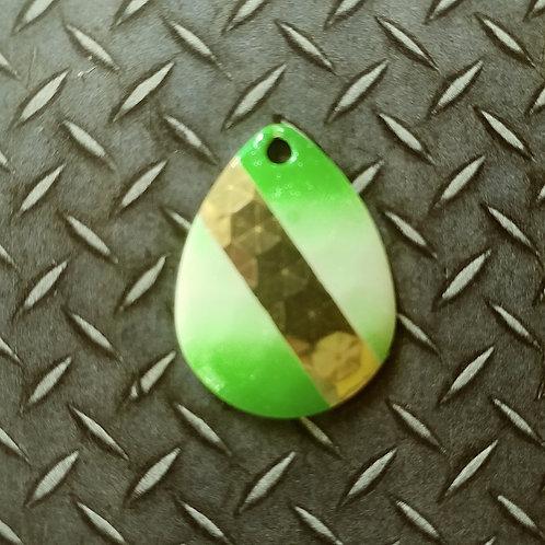 #3.5 Colorado - Pearl Green Brass Stripe (25)