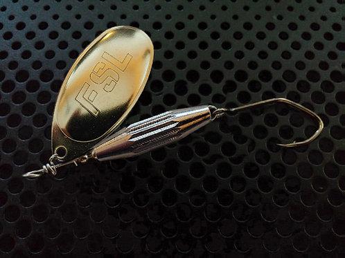 Torpedo Spinners - Polished Brass/Nickel