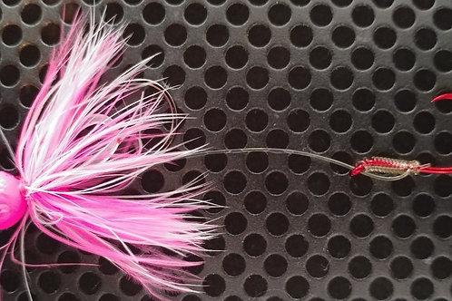 1/4oz Bait Jigs - Pink & White (bj1)