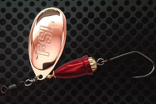 FSL Bell Spinners - Copper/Candy Red