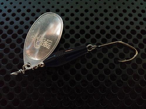 Torpedo Spinners - Polished Silver/Gloss Black