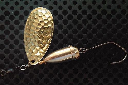 FSL Bell Spinners - Hammered Brass/Brass
