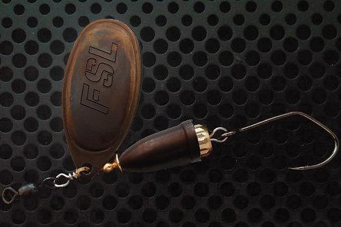 FSL Bell Spinners - Tarnished Brass/Tarnished Brass