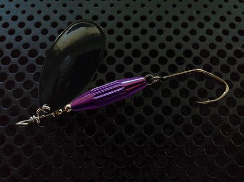 Torpedo Spinners - Black/Candy Purple