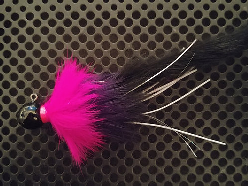 Twitchers - Black/Fuscia/Black - 3/8th oz (t15)