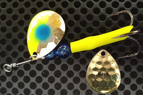 #3.5 R&B Colorado Spinners - Brass Blue Cheese