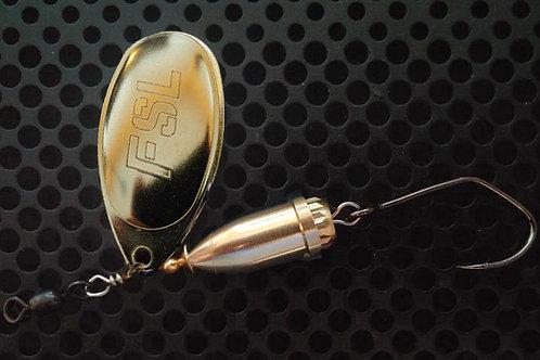 FSL Bell Spinners - Polished Brass/Brass
