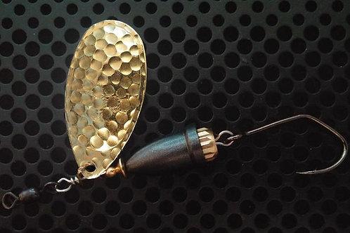 FSL Bell Spinners - Hammered Brass/Teflon