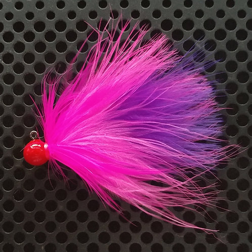 1/8th oz Steelhead Jig - Ferrari (S19)