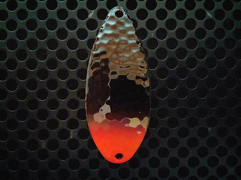 R&B Hammered Spoons - Black & Orange - Tipped