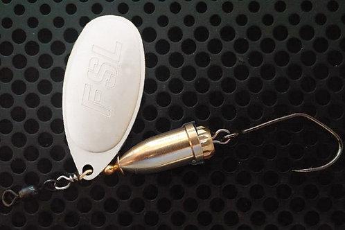 FSL Bell Spinners - Matte Silver/Brass