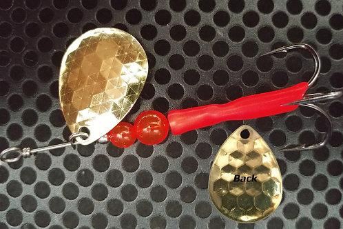 #3.5 R&B Colorado Spinners - Brass & Flame