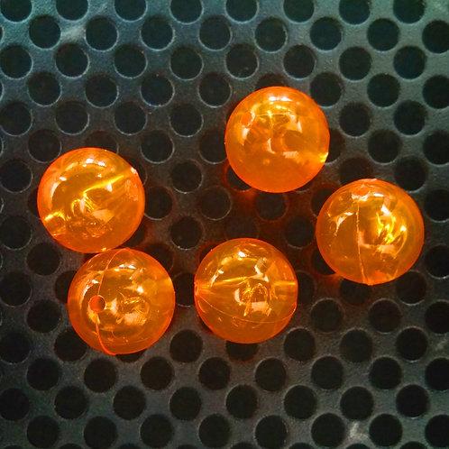 Steelhead Beads - Orange Clear - 10 Pack