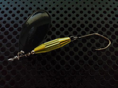 Torpedo Spinners - Black/Candy Chartreuse
