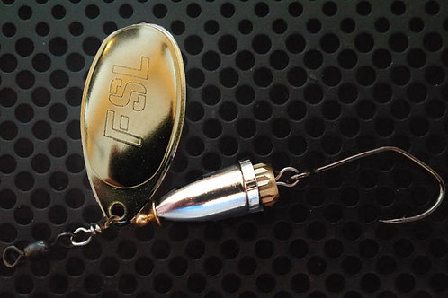 FSL Bell Spinners - Polished Brass/Nickel