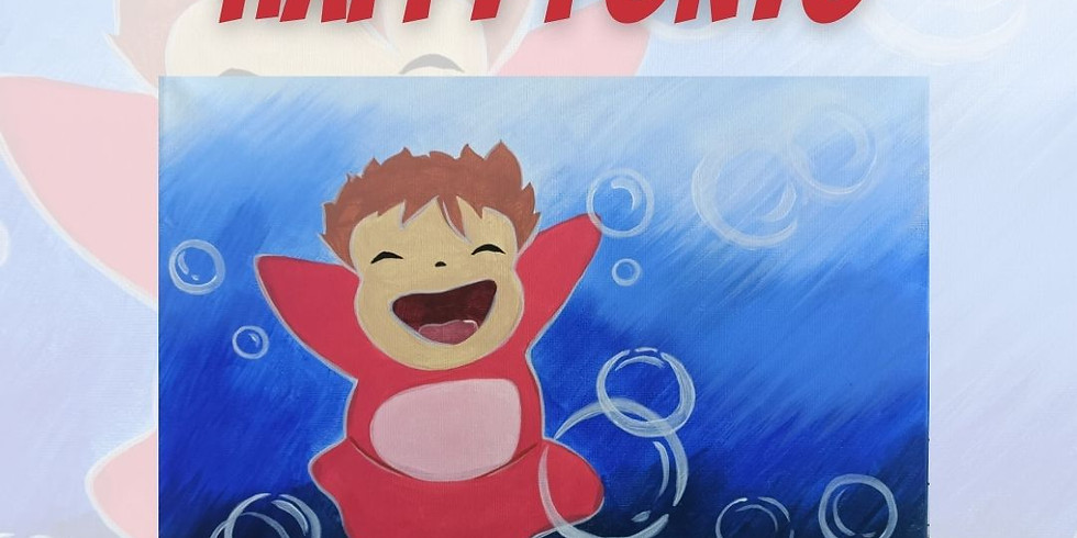 PAINT THE TOWN - HAPPY PONYO