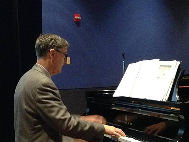 Victor Labenske performing at the MTNA National Conference.