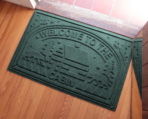 Aqua Sheild WelcomeTo The Cabin Doormat. $ 39.95. Size Is 24 Inches X 36  Inches ...