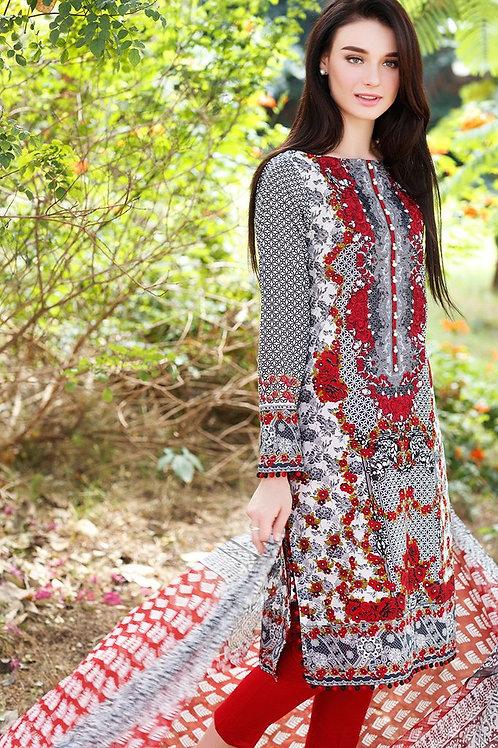 Branded Lawn Dress