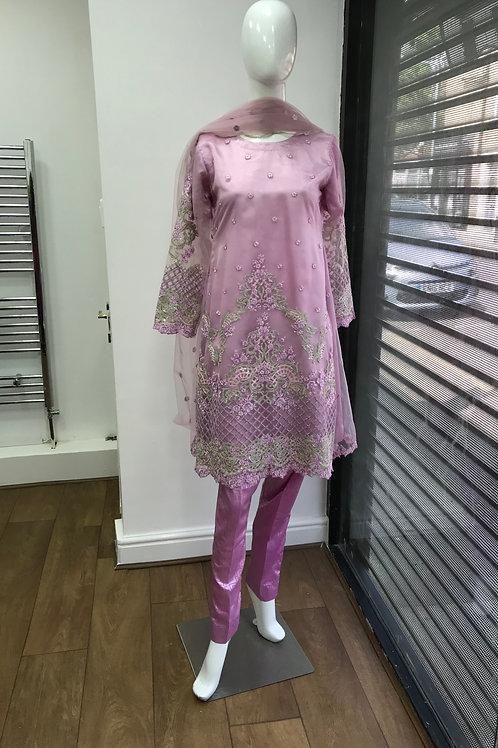 Pink Full Suit