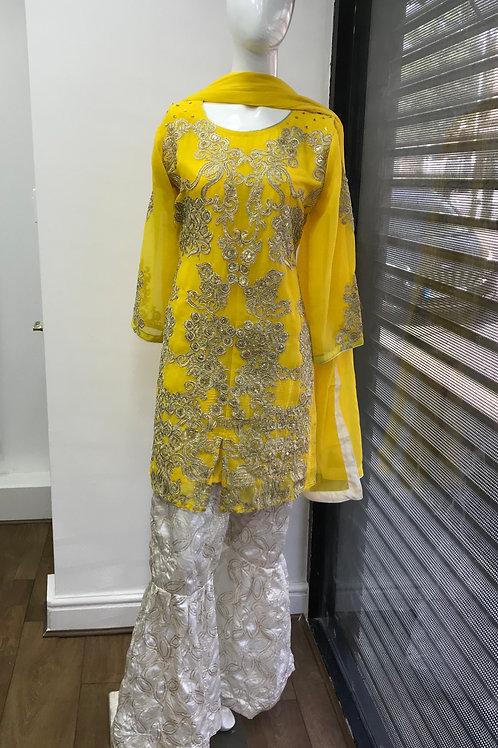 Yellow Full Suit