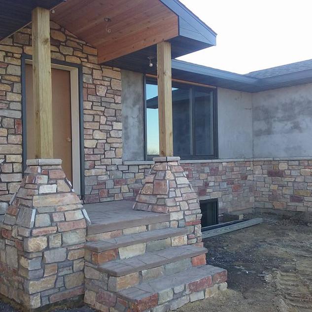Chilton Rustic Real Stone Veneer