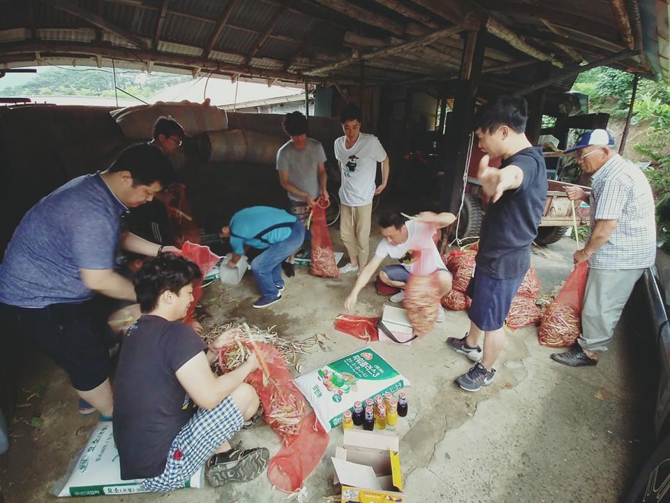 제 2기 협회 운영단 워크샵 진행, 농촌 봉사 활동