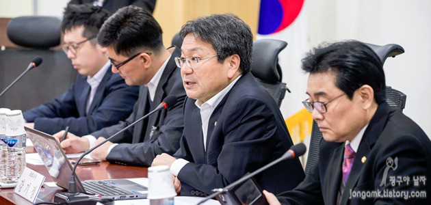 2차 공정거래위원회 표시광고 고시 관련 간담회 개최, 사진 강기정, 전병헌 국회의원